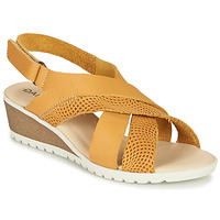 Zapatos Mujer Sandalias Damart MAYLO Amarillo