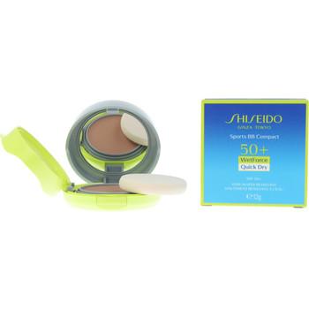 Belleza Base de maquillaje Shiseido Sun Care Sport Bb Compact Spf50+ medium 12 Gr 12 g