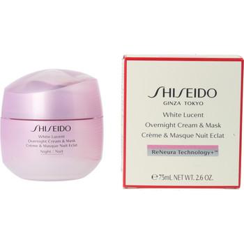Belleza Mujer Hidratantes & nutritivos Shiseido White Lucent Overnight Cream & Mask  75 ml