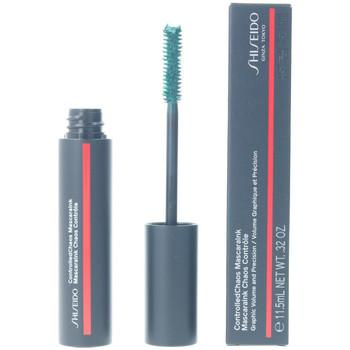 Belleza Mujer Máscaras de pestañas Shiseido Controlled Chaos Mascaraink 04-emerald Energy 11,5 ml