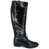 Zapatos Mujer Botas urbanas Luis Gonzalo 4932M Botas de Montar de Mujer Negro
