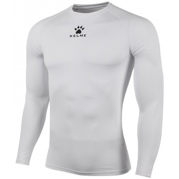 textil Niños Camisetas manga larga Kelme CAMISETA TÉRMICA M/L JR Blanco