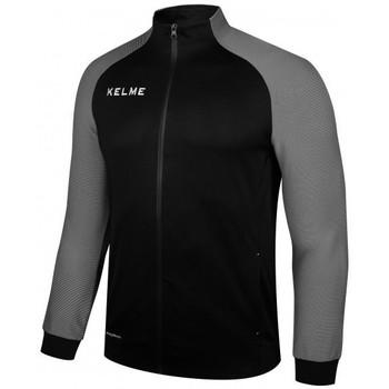 textil chaquetas de deporte Kelme CHAQUETA MONTES NEGRO Y GRIS