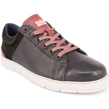 Zapatos Hombre Zapatillas bajas On Foot 11801 PIEL NEGRA NEGRO