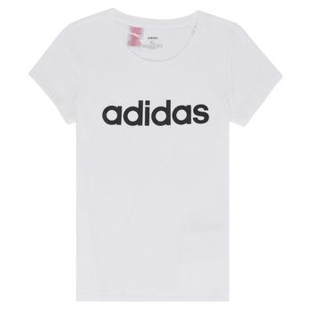 textil Niña Camisetas manga corta adidas Performance NELIZO Blanco