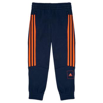 textil Niño Pantalones de chándal adidas Performance PERIOLRI Marino