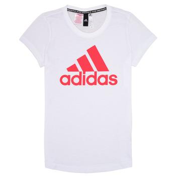 textil Niña Camisetas manga corta adidas Performance ELIOTE Blanco