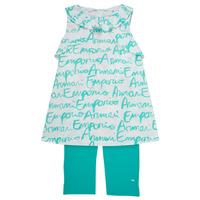 textil Niña Conjunto Emporio Armani Adel Blanco / Azul