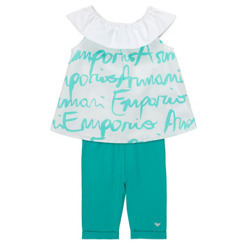 textil Niña Conjunto Emporio Armani Alex Blanco / Azul