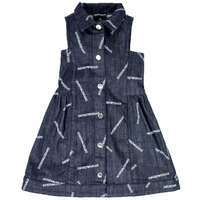 textil Niña vestidos cortos Emporio Armani Andy Azul