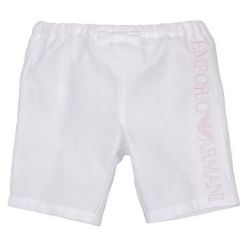 textil Niña Shorts / Bermudas Emporio Armani Aniss Blanco
