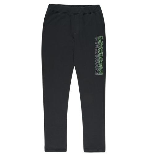 textil Niño Pantalones de chándal Emporio Armani Arnaud Negro