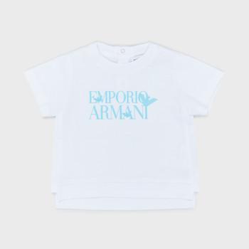 textil Niño Camisetas manga corta Emporio Armani Arthus Blanco
