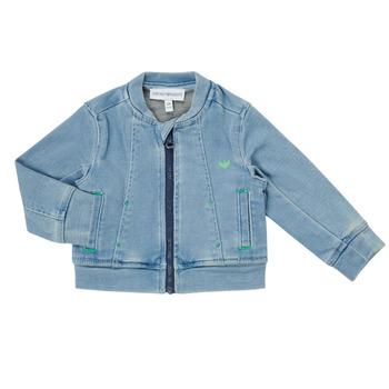 textil Niño Chaquetas / Americana Emporio Armani Alfred Azul