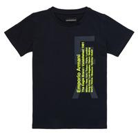 textil Niño camisetas manga corta Emporio Armani Andoni Marino