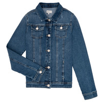 textil Niña chaquetas denim Only KONSARA Azul