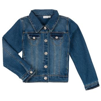 textil Niño chaquetas denim Name it NITSTAR RIKA Azul
