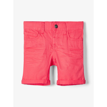 textil Niño Shorts / Bermudas Name it NMMSOFUS TWIISKA Rojo