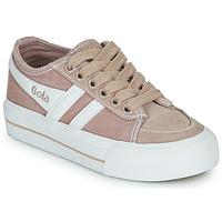 Zapatos Niños Zapatillas bajas Gola QUOTA II Rosa / Blanco