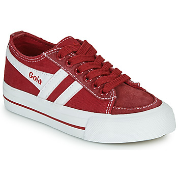 Zapatos Niños Zapatillas bajas Gola QUOTA II Rojo / Blanco