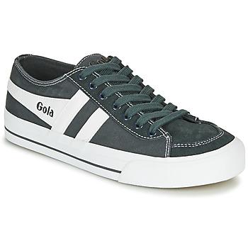 Zapatos Zapatillas bajas Gola QUOTA II Graphite / Blanco
