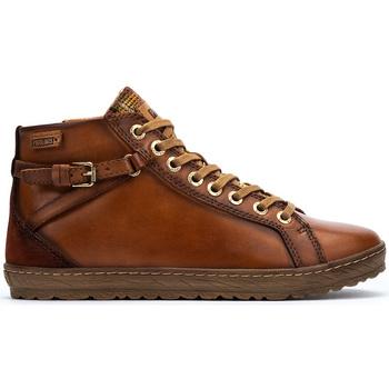 Zapatos Mujer Botas de caña baja Pikolinos LAGOS 901 BRANDY