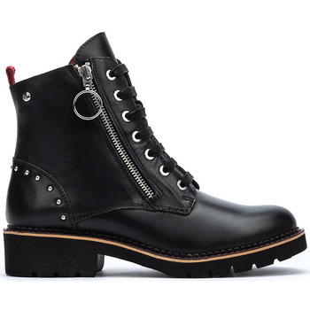 Zapatos Mujer Botas de caña baja Pikolinos VICAR W0V BLACK