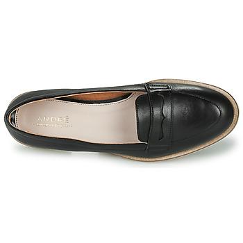 André EFIGINIA Negro - Envío gratis |  - Zapatos Mocasín Mujer 7120
