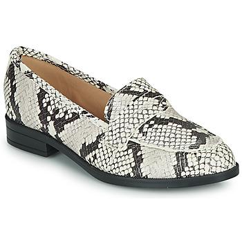 Zapatos Mujer Mocasín André EMERAUDE Beige
