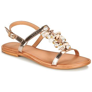 Zapatos Mujer Sandalias André PATTI Beige