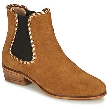 Zapatos Mujer Botines André BRETT Camel