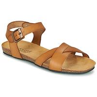 Zapatos Mujer Sandalias André BREHAT Camel