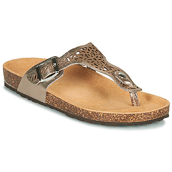 Zapatos Mujer Sandalias André RILA Oro