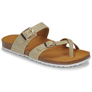 Zapatos Mujer Sandalias André REJANE Oro