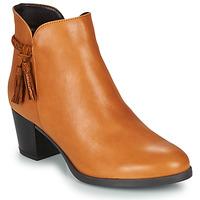 Zapatos Mujer Botas de caña baja André MARYLOU Camel