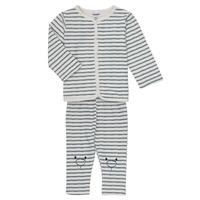textil Niño Conjunto Noukie's KAIS Blanco