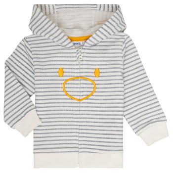 textil Niño sudaderas Noukie's CAM Blanco