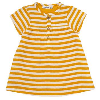 textil Niña Vestidos cortos Noukie's YOUNES Amarillo