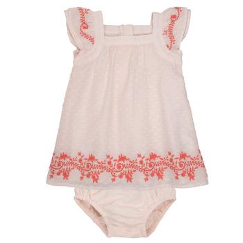 textil Niña Vestidos cortos Carrément Beau SAMY Rosa