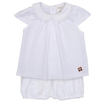 textil Niña Conjunto Carrément Beau LORELLI Blanco
