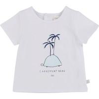 textil Niño Camisetas manga corta Carrément Beau MARTINEZ Blanco