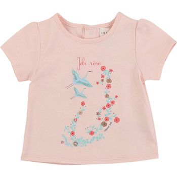 textil Niña Camisetas manga corta Carrément Beau JUSTINE Rosa