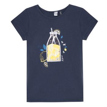textil Niña Camisetas manga corta 3 Pommes LOGAN Azul