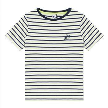 textil Niño camisetas manga corta 3 Pommes NORDINE Amarillo