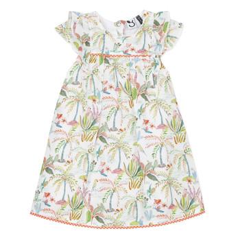 textil Niña vestidos cortos 3 Pommes SANDRINE Blanco