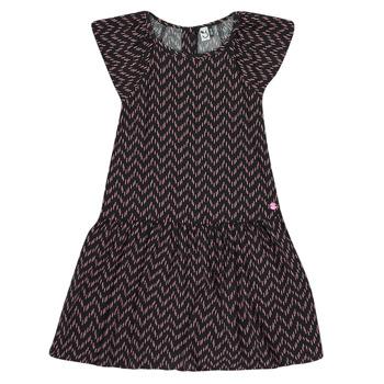 textil Niña Vestidos cortos 3 Pommes JULIE Negro