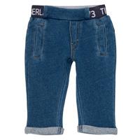textil Niño pantalones con 5 bolsillos Timberland VALENTIN Azul