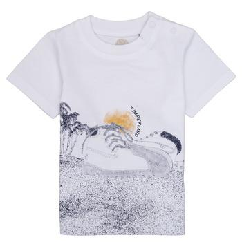 textil Niño camisetas manga corta Timberland ANTONIN Blanco