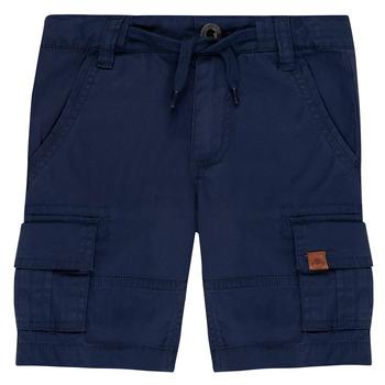textil Niño Shorts / Bermudas Timberland LUKA Azul