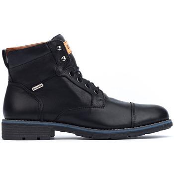 Zapatos Hombre Botas de caña baja Pikolinos YORK M2M BLACK